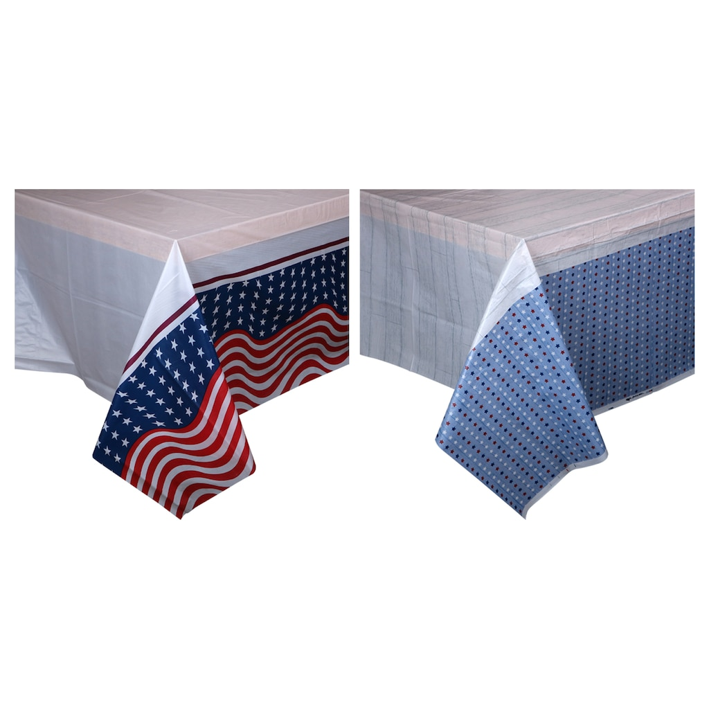 Display Product Reviews For Patriotic Tablecovers 54x108 In