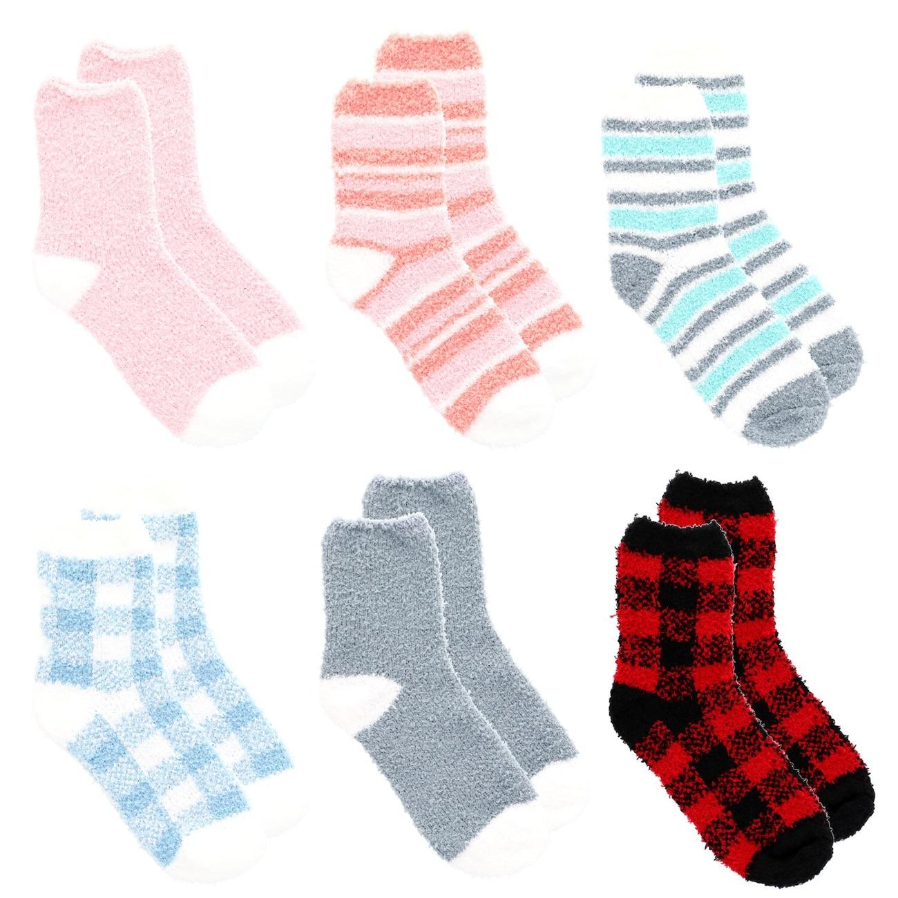 268c5019477e6 Ladies' Snugadoo Too Super-Soft Socks