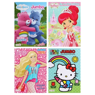 Jumbo Activity and Coloring Books Product Image 6075113d70c8b