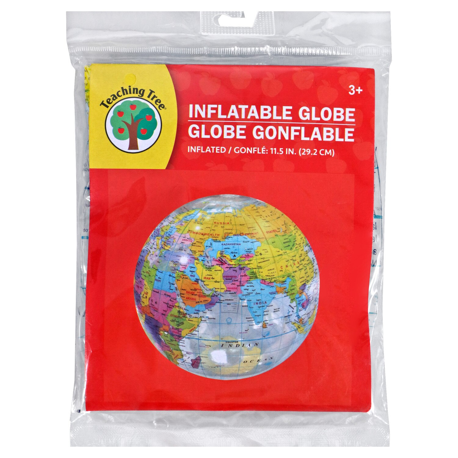 View Teaching Tree Inflatable Globes, 16