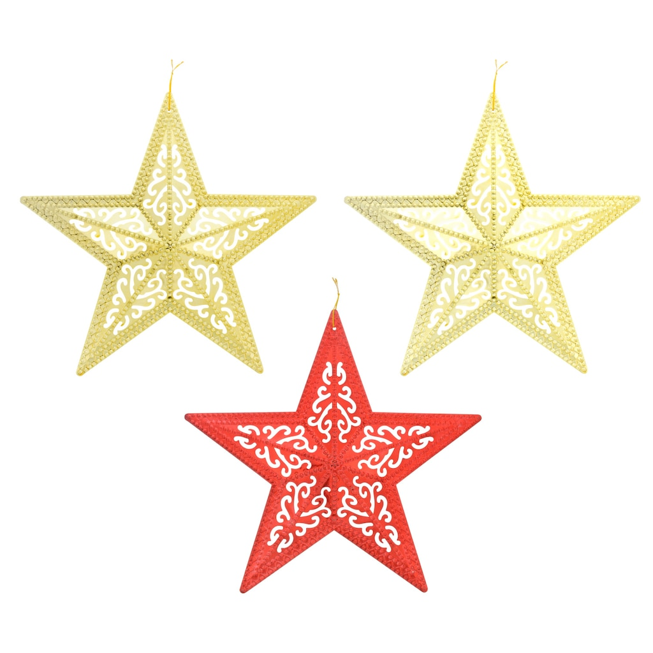 christmas house glittery hanging wall decor stars