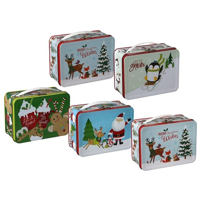 Christmas Tins.Christmas Mini Tins