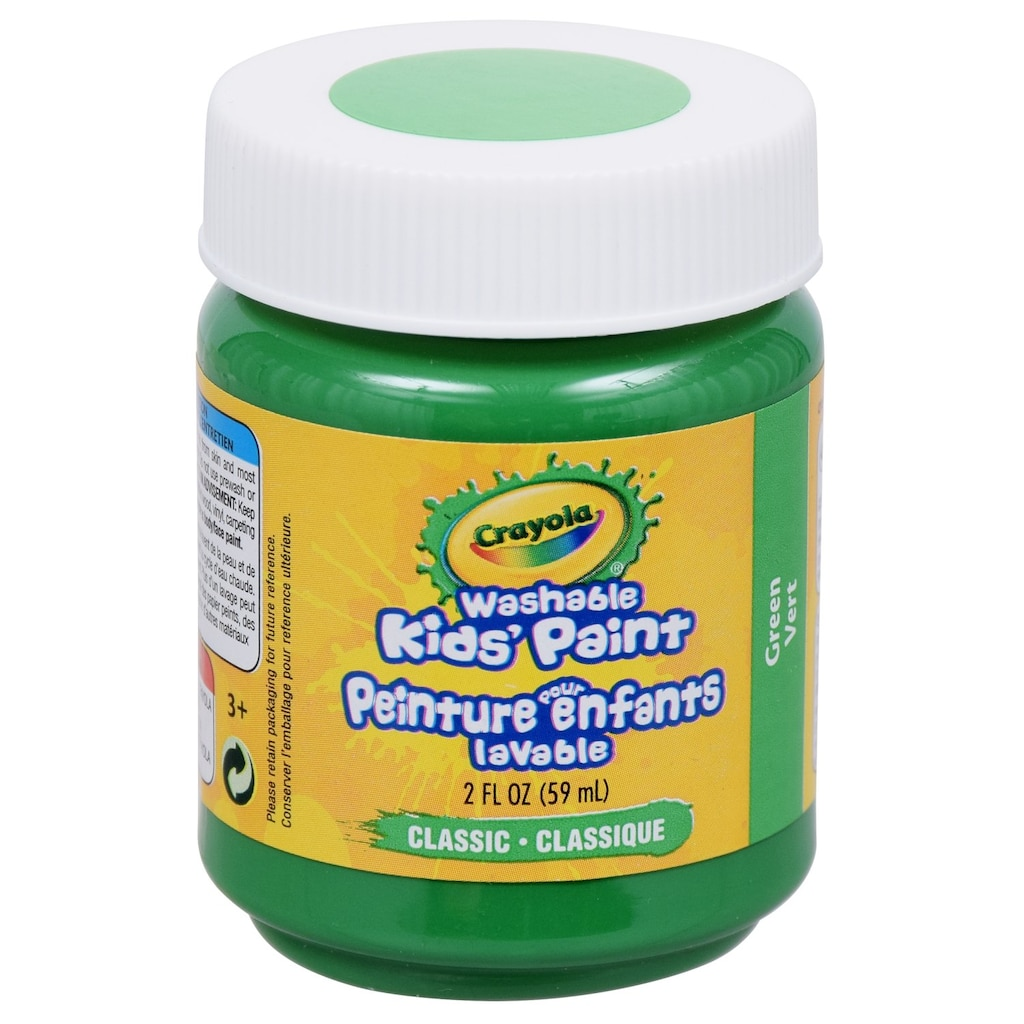 Crayola Washable Kids Green Paint 2 Fl Oz Containers