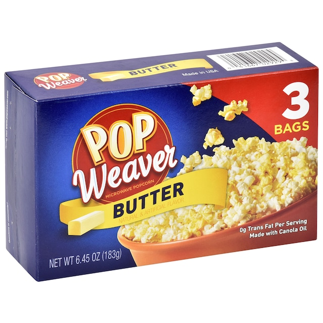 View Pop Weaver Microwave Popcorn With