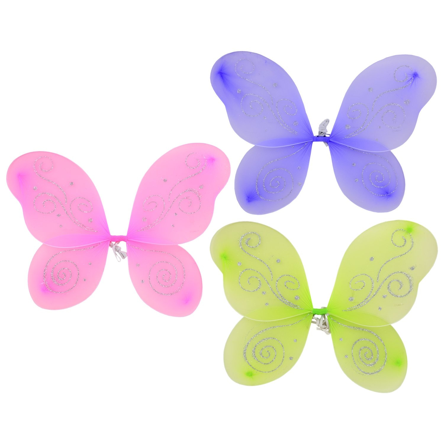 Novelty & Special Use 3-9 Y.o Special Pink Cosplay Butterfly Wings For Girl Costume Party Summer Sunscreen Masque Children Toy Animal Costume