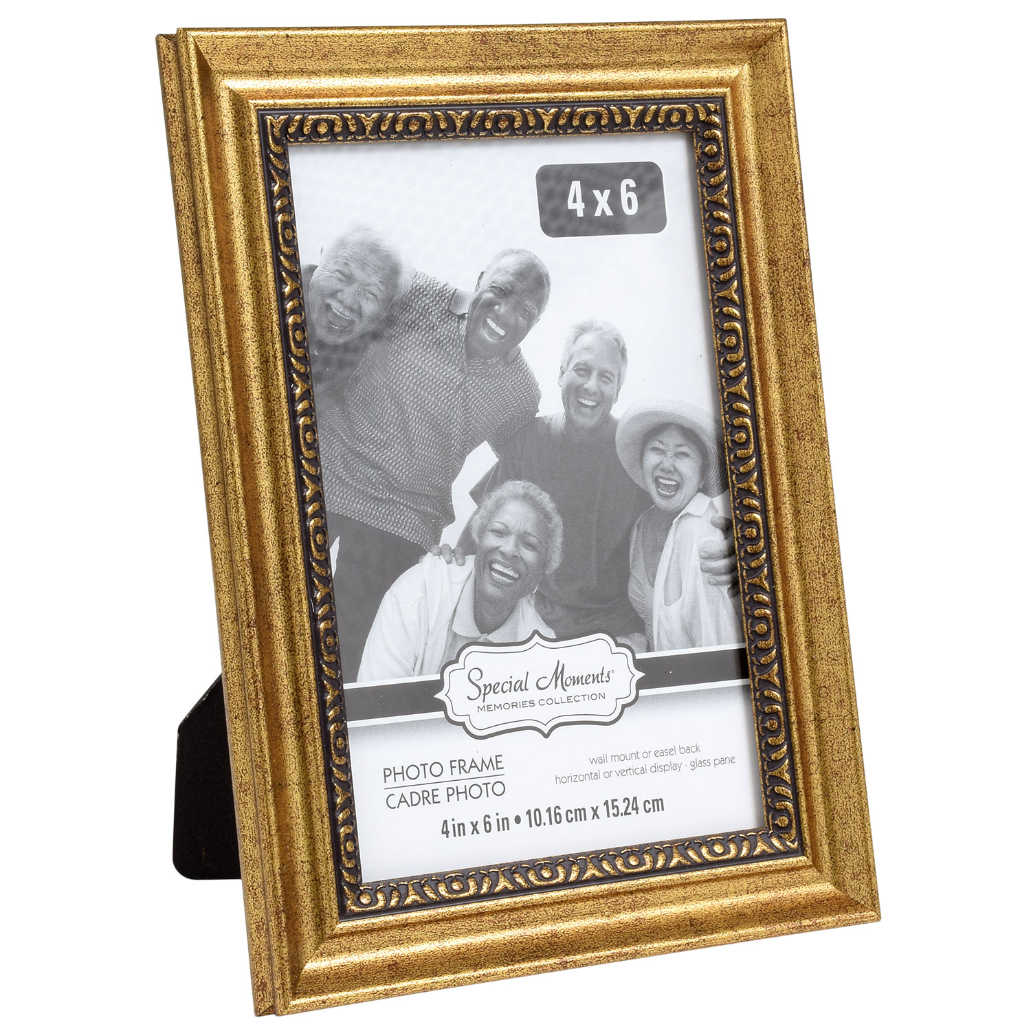 b5c6eb50d86b Special Moments Etched Inner Edge Gold Plastic Photo Frames