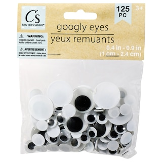 c45b4b9644e View Crafter s Square Plastic Googly Eyes