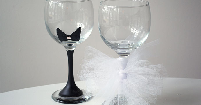 Wine Champagne Glasses Chocolate Covered Cookies Party Favors