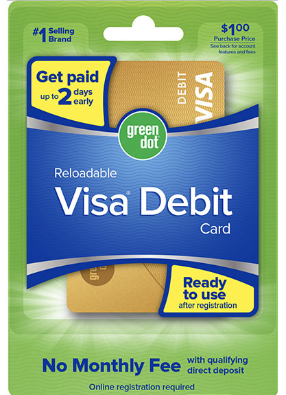 Green Dot Reloadable Prepaid Cards DollarTree.com