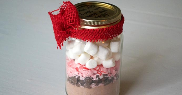 Hot Cocoa Mix In A Jar Dollar Tree