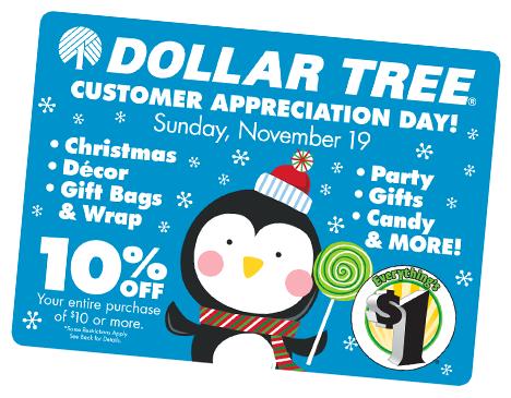 DollarTree com   Customer Appreciation