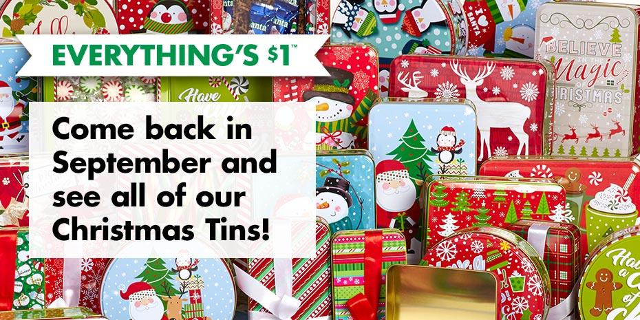 Christmas Tins & Goodie ...