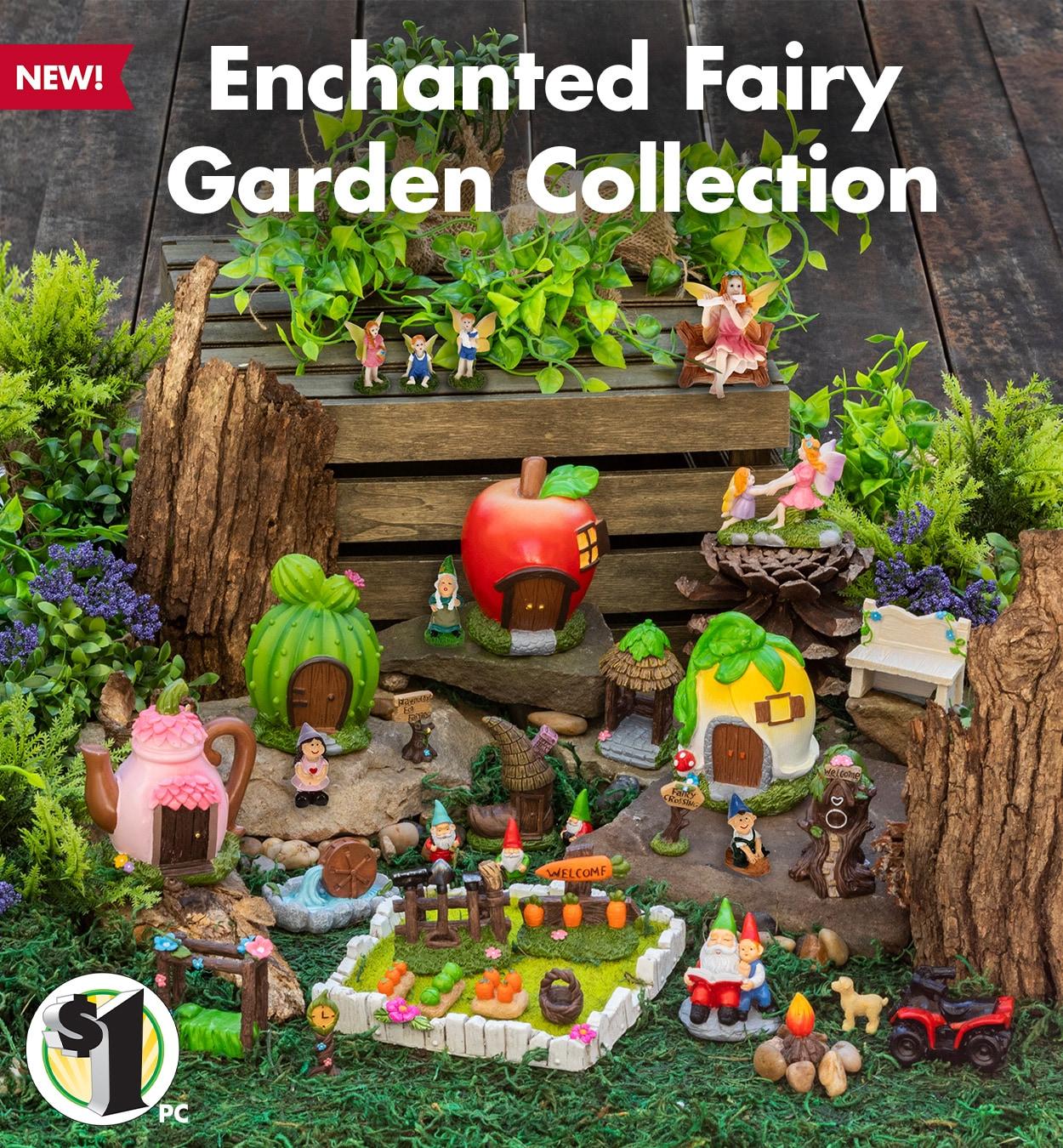 Shop Enchanted Fairy Garden Sets Online Now