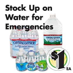 Bulk Nestle Pure Life 8-oz  Water Bottles, 6-ct  Packs