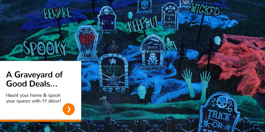 a graveyard of good deals haunt your home spook your spaces with
