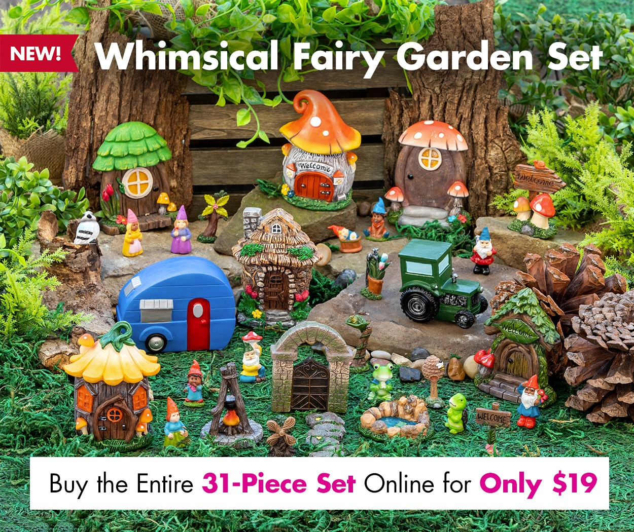 Shop Whimsical Fairy Garden Sets Online Now