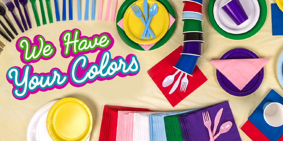 Dollartree Com Bulk Solid Color Party Supplies