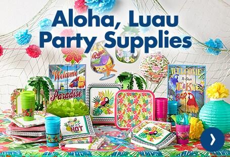 Shop 1 Luau Party Supplies Online Now