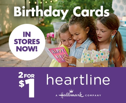 Shop 1 Birthday Cards In Stores Now