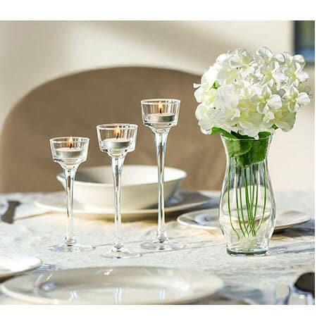 DollarTree.com | Long-Stem Glass Tealight Candleholders