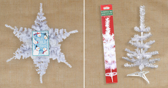 Diy Giant Snowflake Wreath Dollar Tree