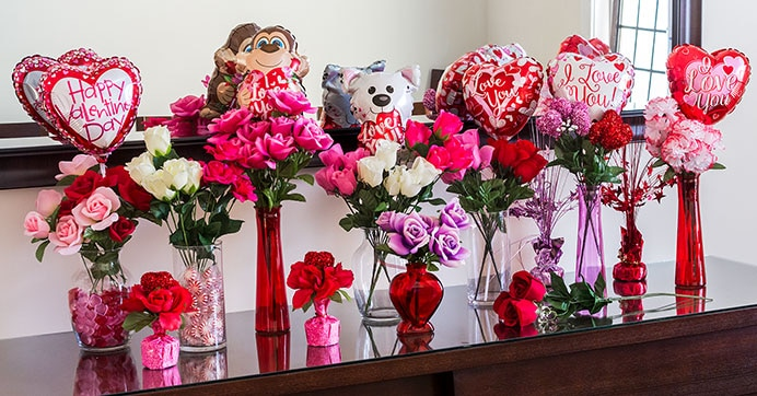 You Ll Love These Valentine S Day Faux Floral Arrangements Dollar Tree